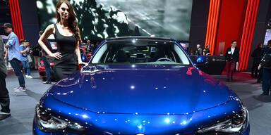 Die Stars der Los Angeles Auto Show