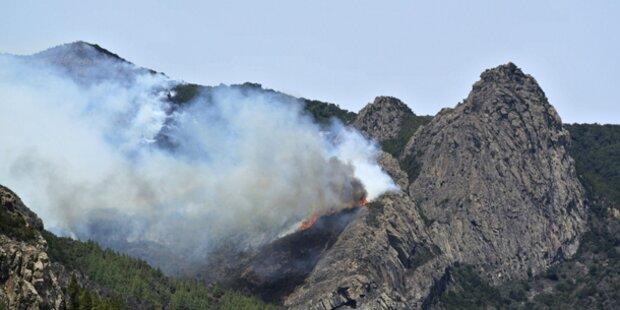 Welt-Naturerbe von Waldbränden bedroht