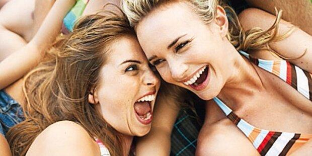 Lachen schützt vor Schmerzen