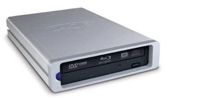 Lacie zeigt externen Blu-ray-Brenner