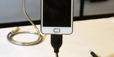Handys: Pflicht für einheitliche Ladegeräte