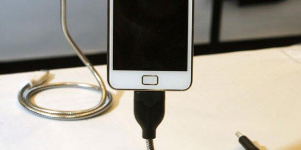 Einheitliche Handy-Ladegeräte kommen