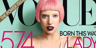 'Hasenzahn' am Vogue- Cover