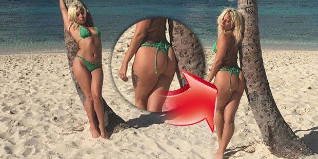 Lady Gaga zeigt nackten Kurven-Po