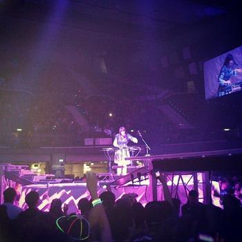 Lady Starlight bei Lady Gaga in der Wiener Stadthalle