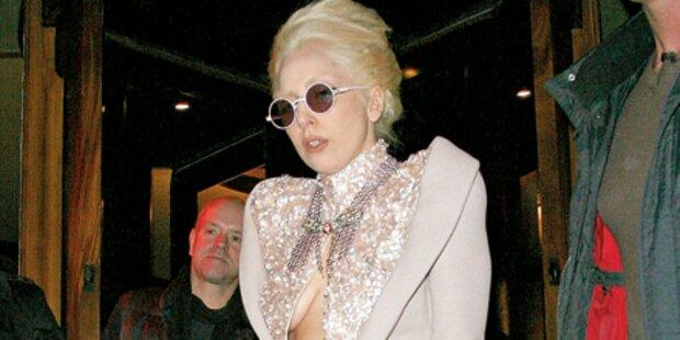 Lady Gaga als Eisprinzessin
