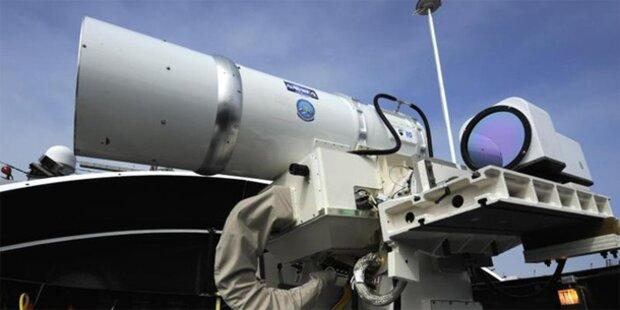 USA testen neue Hightech-Laserkanone