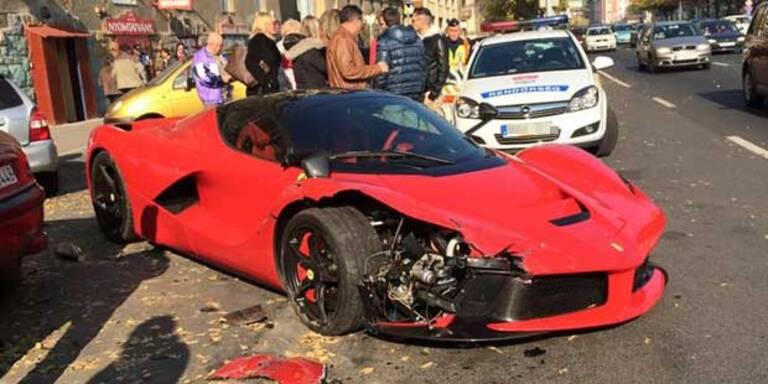 Teuersten Ferrari der Welt geschrottet