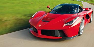 Super-Ferrari kommt auch als Roadster