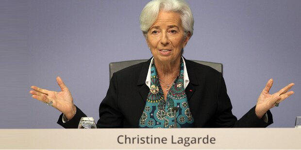 Lagarde hält an bisherigem EZB-Kurs fest