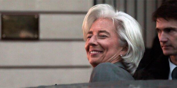 IWF-Chefin Lagarde entgeht Anklage