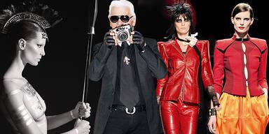Karl Lagerfeld Iris Strubegger
