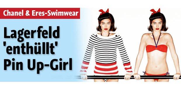 Karl Lagerfeld ent'hüllt' Pin Up-Girl
