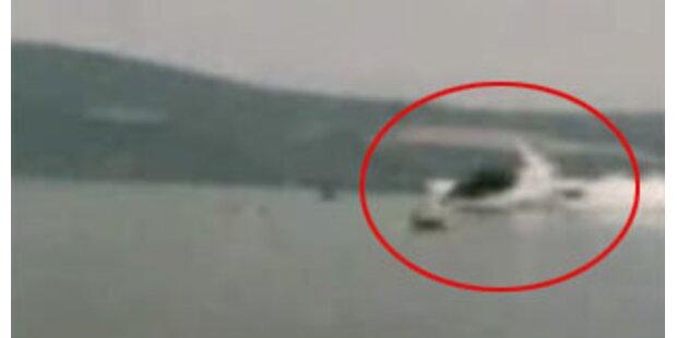 Ein Toter bei Heli-Absturz in italienischen See