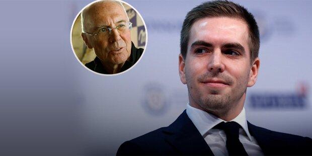 Heftige Lahm-Kritik an Beckenbauer