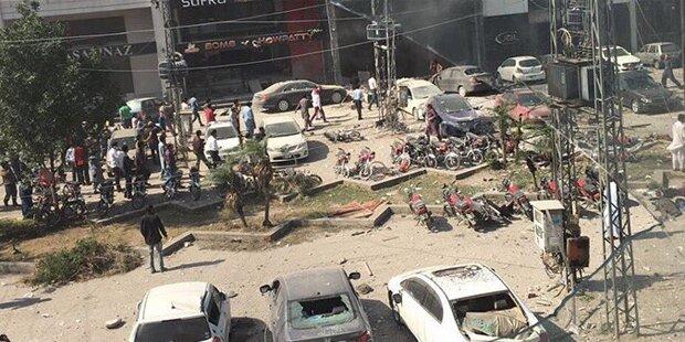 Explosion in Restaurant in Lahore