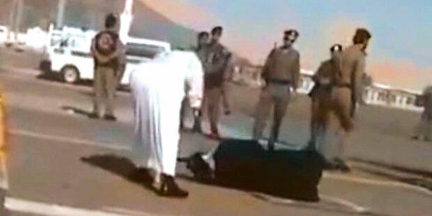Wieder Skandal: Saudis köpfen Frau