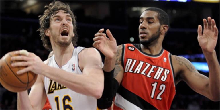 Lakers sichern sich Division-Titel