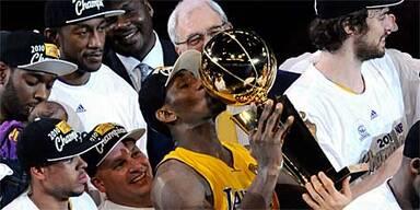 Lakers schaffen Titelverteidigung