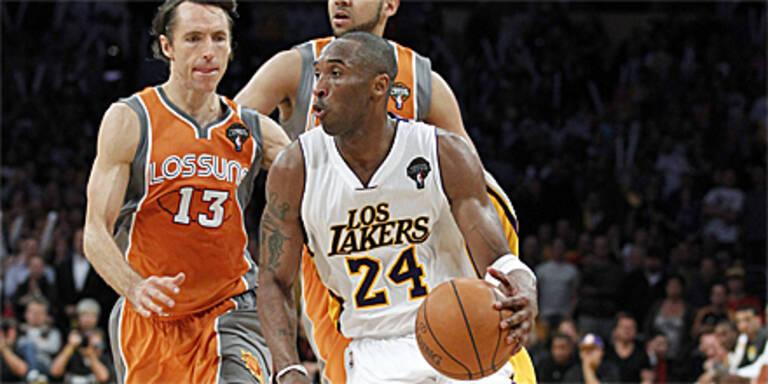 Lakers gewinnen Marathonpartie