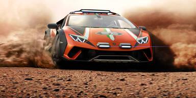 Lamborghini Huracán fürs Gelände