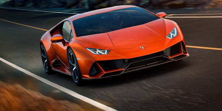 Facelift für den Lamborghini Huracán