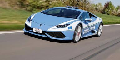 Neuer Lamborghini für die Polizei
