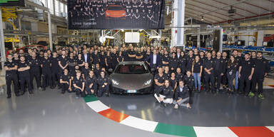 Mega-Erfolg für Lamborghini Huracán