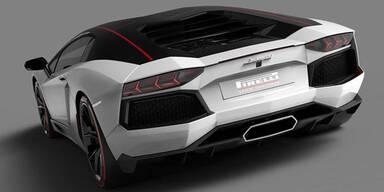 Lamborghini Aventador als Pirelli Edition