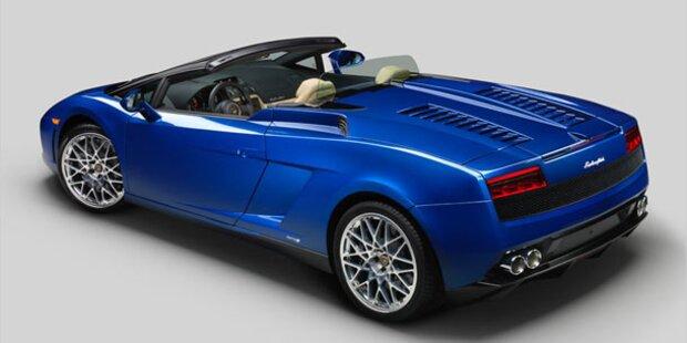 Lamborghini Gallardo Spyder mit Heckantrieb