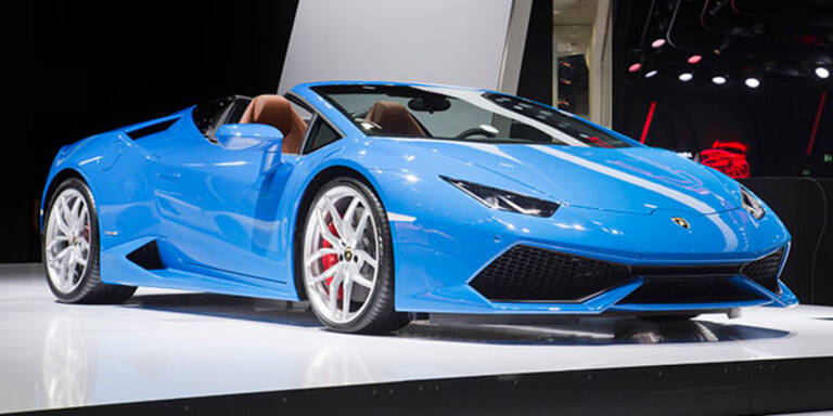 Lamborghini bringt den Huracán Spyder