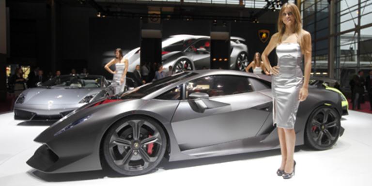 Die schönsten Fotos der Pariser Autoshow Teil 1