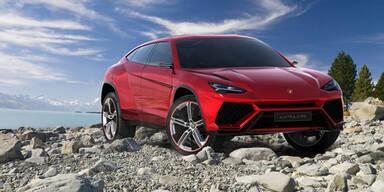 Lamborghini stellt SUV-Studie Urus vor