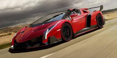 Lamborghini bringt den Veneno Roadster