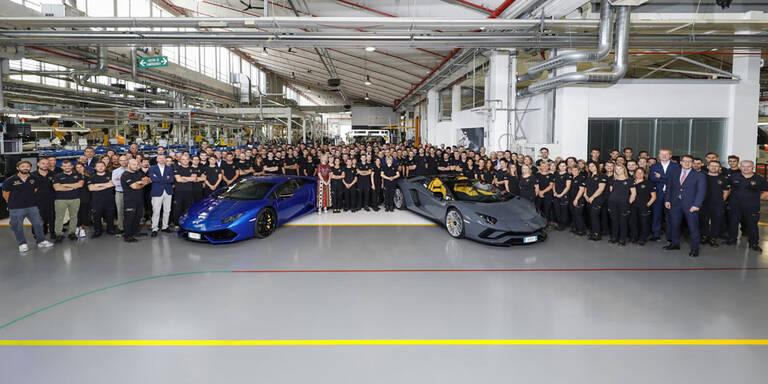 Mega-Erfolg für Huracán und Aventador