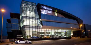 Größter Lamborghini-Showroom der Welt eröffnet