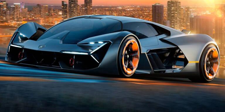 Lamborghini zeigt atemberaubenden Elektro-Sportler