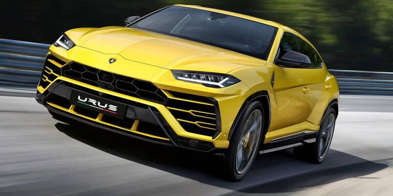 Alle Infos vom Lamborghini-SUV Urus