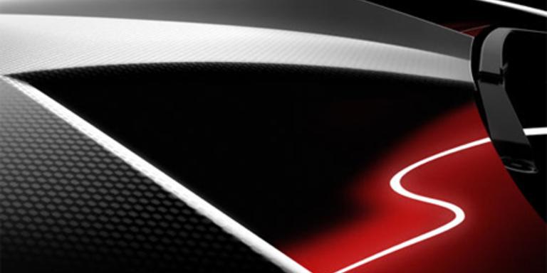 Kohlefaser-Flunder von Lamborghini in Paris