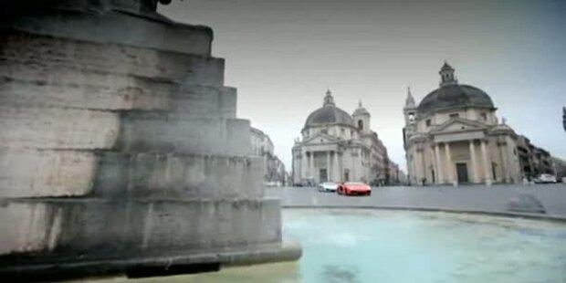 Lamborghini Aventador in Rom
