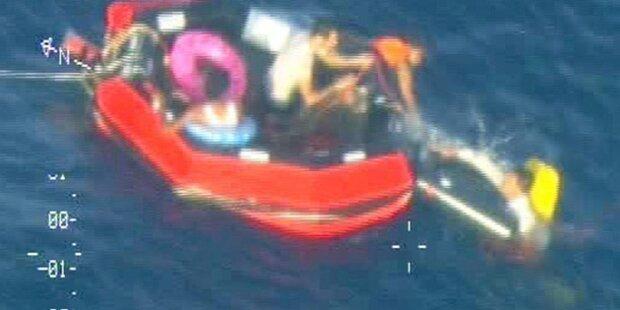 Wieder rund 50 Tote vor Lampedusa