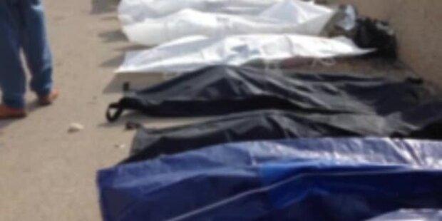 350 Tote schockieren die ganze Welt