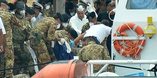 Lampedusa: Weitere 83 Leichen geborgen