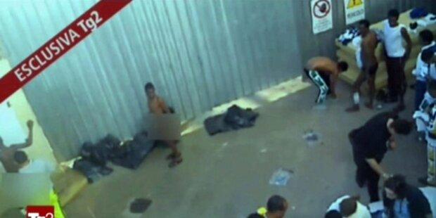 Lampedusa: Flüchtlinge wie 'im KZ behandelt'