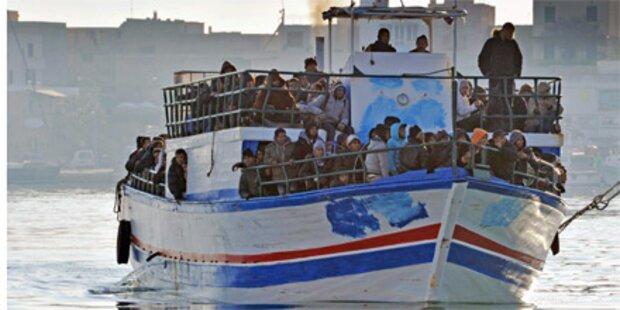 4.000 Tunesier in Italien gestrandet