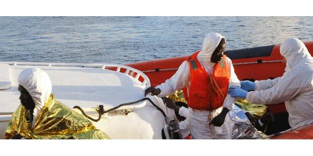 Vermutlich 300 Tote vor Lampedusa