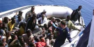 Erneut Migranten auf Lampedusa gelandet