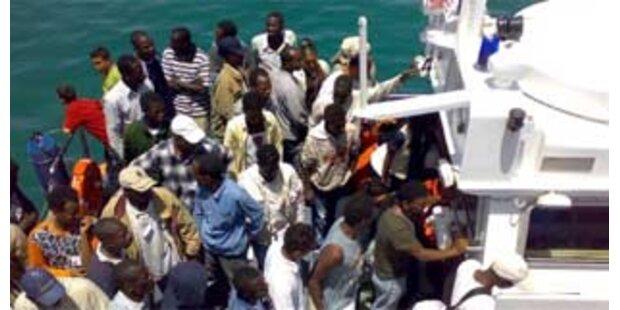 Rom verspricht Ende der Flüchtlingswelle nach Lampedusa