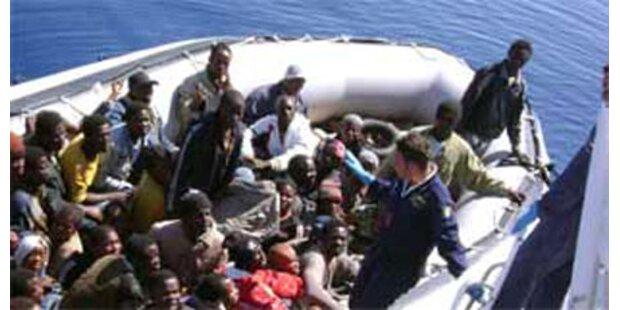 50 Flüchtlinge auf Lampedusa gelandet