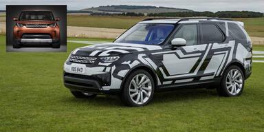 Land Rover stellt den neuen Discovery vor